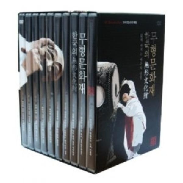 한국의 무형문화재: 한국문화유산 체험 DVD 상품이미지