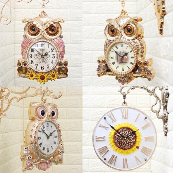 인테리어 양면벽시계/무소음시계/엔틱소품/집들이선물 상품이미지