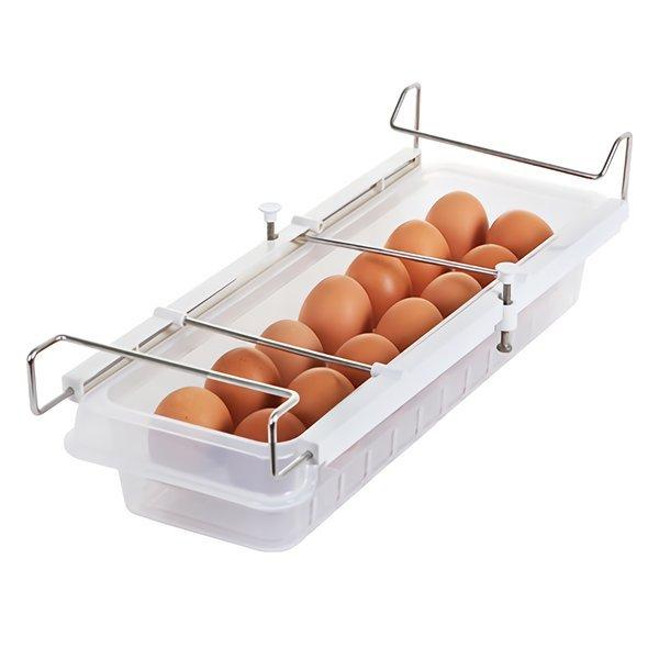 냉장고 레일에그트레이1호(14구)/달걀 계란 보관 저안 상품이미지