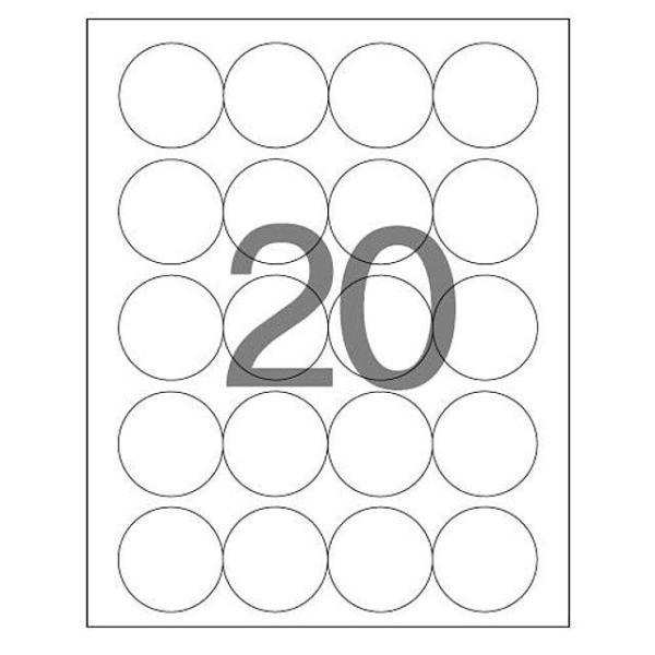 문구사무/분류표기용 라벨(LQ-3639/20매/20칸/폼텍) 상품이미지