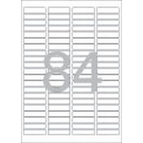 문구사무/분류표기용 라벨(LQ-3623/20매/84칸/폼텍) 상품이미지