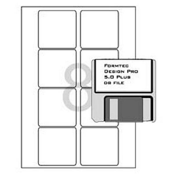 문구사무/분류표기용 라벨(LQ-3610/20매/8칸/폼텍) 상품이미지