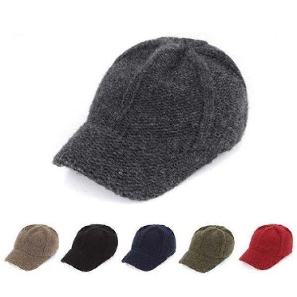 니트캡1113 모자 털모자 캡모자 겨울모자 상품이미지