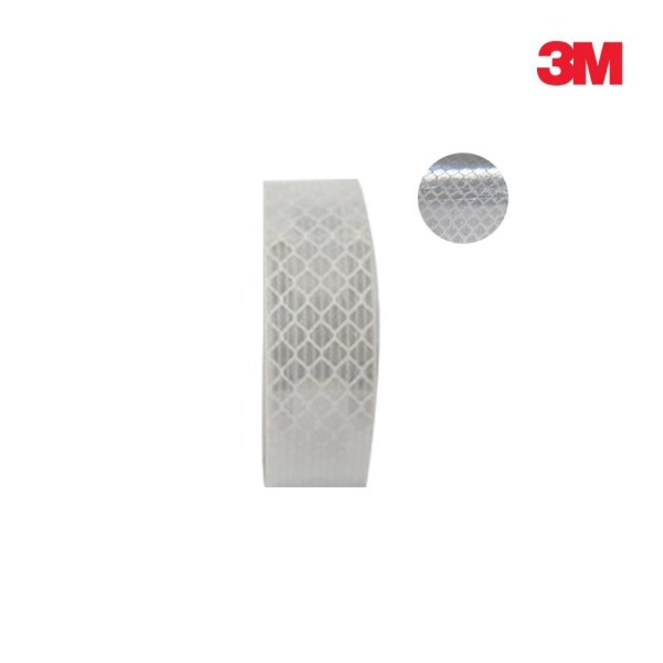 3M 초 고휘도 반사테이프 DG3 4090 백색 20mm x 2.5 상품이미지