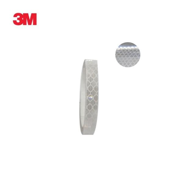 3M 초 고휘도 반사테이프 DG3 4090 백색 10mm x 2.5 상품이미지
