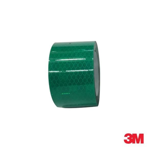 3M 프리즘형 고휘도 반사테이프 48mm x 2.5M 녹색 상품이미지