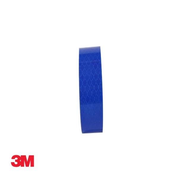 3M 프리즘형 고휘도 반사테이프 24mm x 2.5M 청색 상품이미지