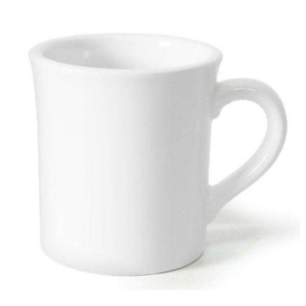 모던 머그컵 300ml (화이트) 머그잔 커피잔 도자기 상품이미지