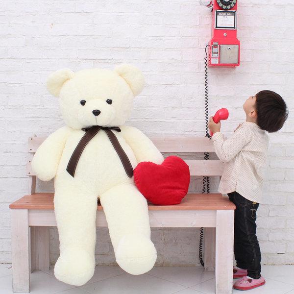 포근포근_초대형150cm자이언트 사랑해 큰곰인형+하트 상품이미지