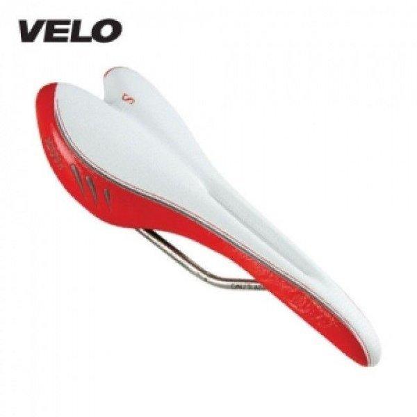 센소(SENSO) S1125 화이트-레드 자전거 안장 상품이미지