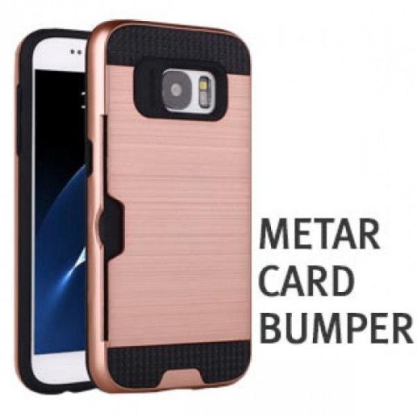 메탈 카드 범퍼 케이스 갤럭시 J7 2017 J730 휴대폰 상품이미지