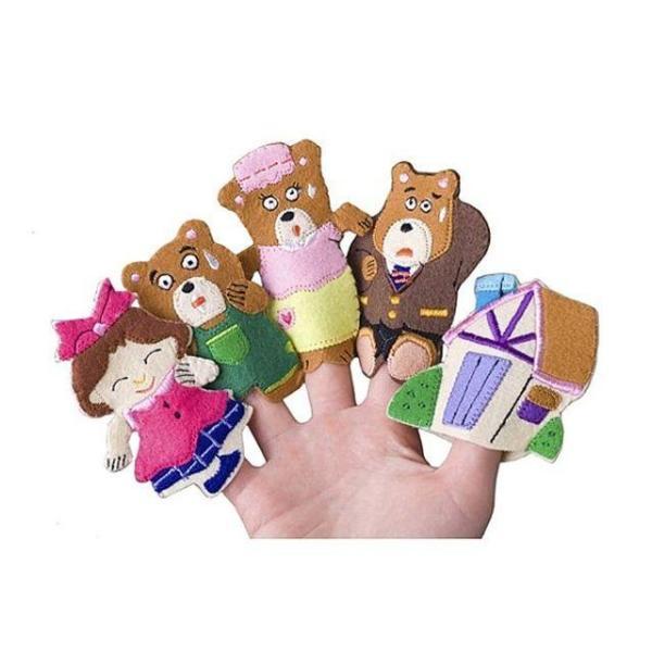 매직캐슬 손가락인형 곰세마리 어린이 아동 아기 애 상품이미지