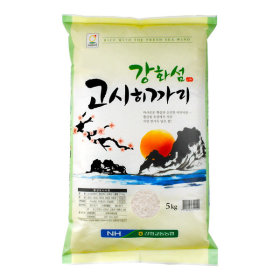 강화섬 고시히카리쌀5kg 2017년 햅쌀 밥선생
