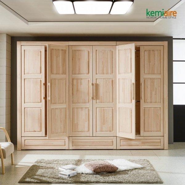 편백나무 10자 장롱세트 KMD-231-케미에르 무료배송 상품이미지