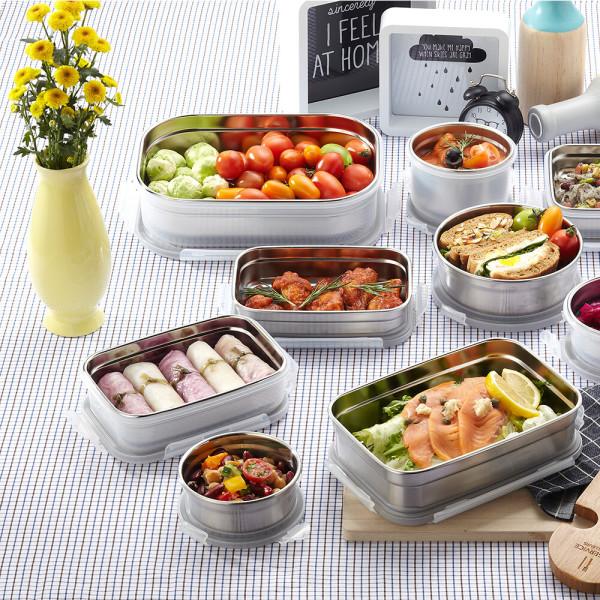 코멕스 오븐글라스 1+1/유리밀폐용기 이유식 반찬통 상품이미지