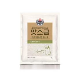 백설 맛소금1kg/소금/맛소금/백설소금/조미료