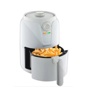 [DAEWOO] Compact Air Fryer / 1.6L / 80°C~200°C / timer function / 2 colors / DEF-DM160 /