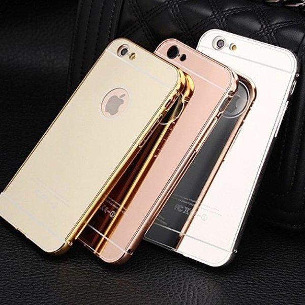 하우징 미러 메탈 케이스 갤럭시J7 J700 휴대폰케이 상품이미지