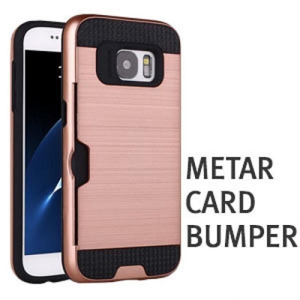 메탈 카드 범퍼 케이스 갤럭시 S6 G920 핸드폰 케이 상품이미지