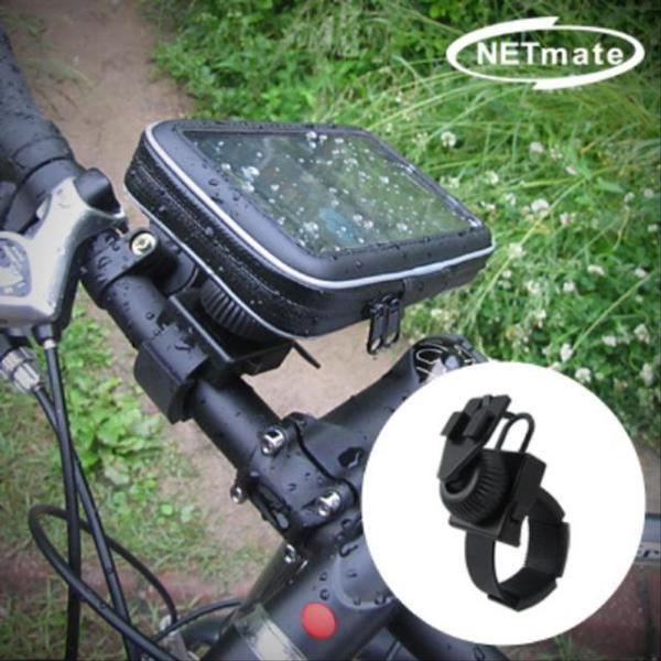 자전거 핸들바 스마트폰 거치대 수납 방수 가방 상품이미지