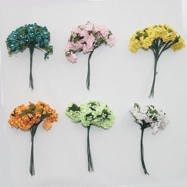 꽃자재 라일락 꽃재료 꽃 만들기 꾸미기 유치원 어 상품이미지