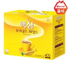모카골드 400T/커피믹스 +사은품/쿠폰가37900/개당90원