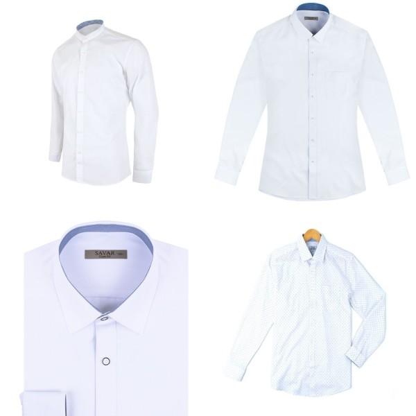긴팔하얀색셔츠 긴팔화이트셔츠 하얀셔츠 정장흰셔츠 상품이미지