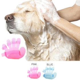 강아지 고양이 펫 미끄럼방지 목욕장갑 애견용품