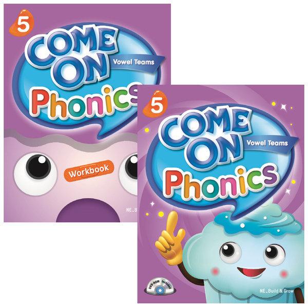Come on Phonics 5단계 (s+W) / 전2권세트 상품이미지