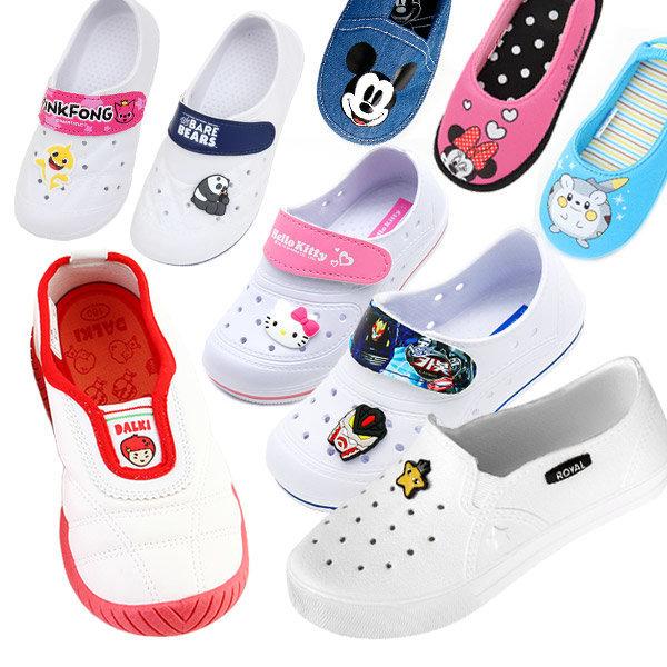 핑크퐁 포켓몬스터 실내화 초등학생 아동 덧신 신발 상품이미지
