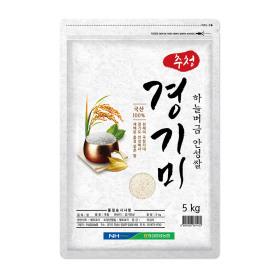 추청 경기미 안성쌀5kg 2019년