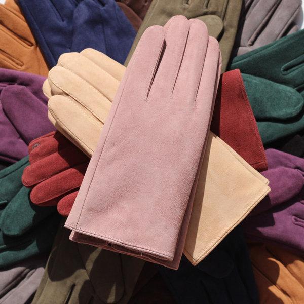 남여공용 천연소가죽 스웨이드 가죽 장갑 컬렉션 상품이미지