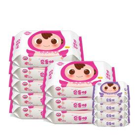 베이직 리필 80매 8팩+엠보싱 휴대리필 4팩/BR-02
