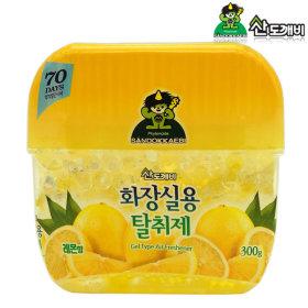 산도깨비 화장실용 냄새탈취제 레몬향 300g / 방향제