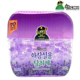 산도깨비 화장실용 냄새탈취제 라벤더향 300g /방향제