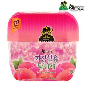 산도깨비 화장실용 냄새탈취제 피치향 300g / 방향제