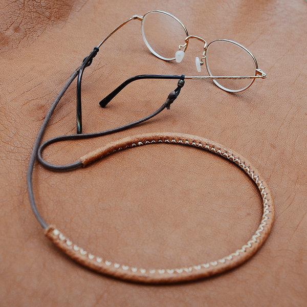 에치펠레 소가죽으로 감싼 안경줄 목걸이/수공품 상품이미지