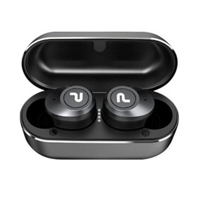 No disconnection completely wireless Bluetooth earphones PISnet FreeGo Black