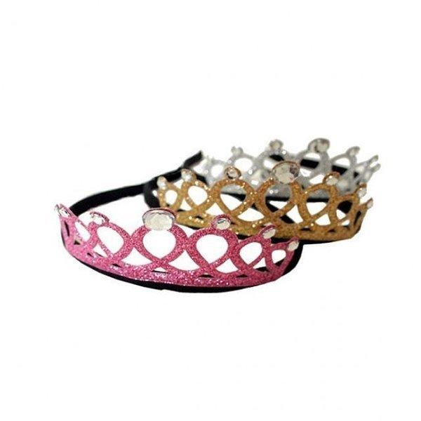 블링블링 큐빅왕관 머리띠 머리띠 왕관 큐빅 파티용 상품이미지