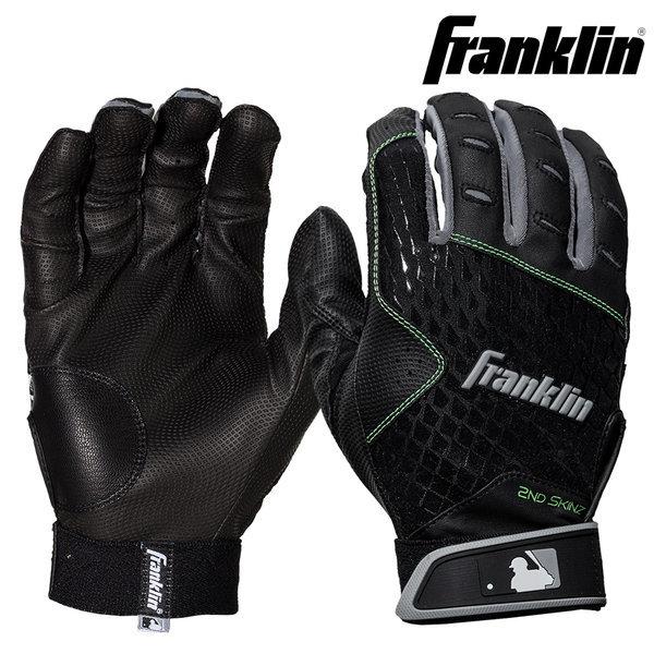 프랭클린 2NDSKIN 21162 블랙 배팅장갑 야구 상품이미지