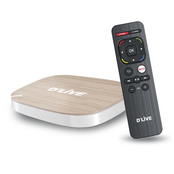 딜라이브플러스 OTT 8G 셋탑박스 -TV/PC/스마트폰시청 상품이미지