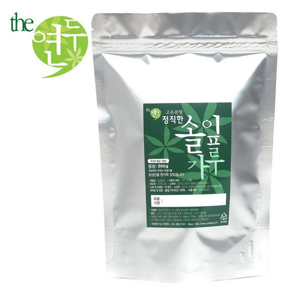 정직한 국산 솔잎가루 300g 솔잎 100% 확실한 품질 상품이미지