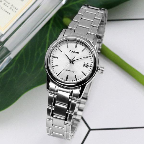 정품 LTP-V002D-7A 카시오 아날로그 여성 시계 c10 상품이미지