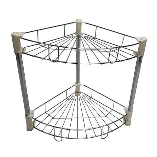 조립식 욕실 코너선반 2단 수납장 진열대 EA001 상품이미지