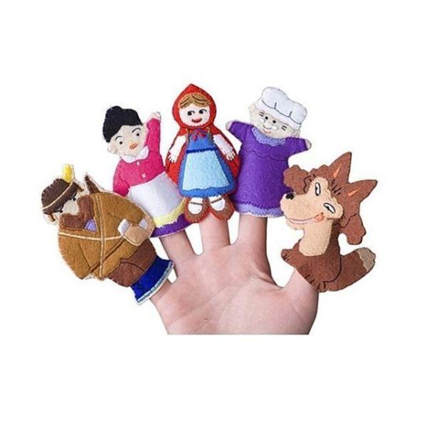 매직캐슬 손가락인형 빨간모자 어린이 아동 아기 애 상품이미지