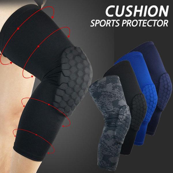쿠션 무릎보호대 무릎 관절 아대 농구 배구 /긴것 상품이미지