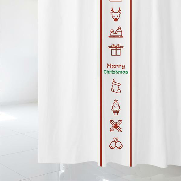 Z  샤워 커튼 크리스마스 csc 13 상품이미지