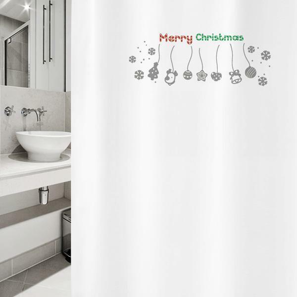 Z  샤워 커튼 크리스마스 csc 28 상품이미지