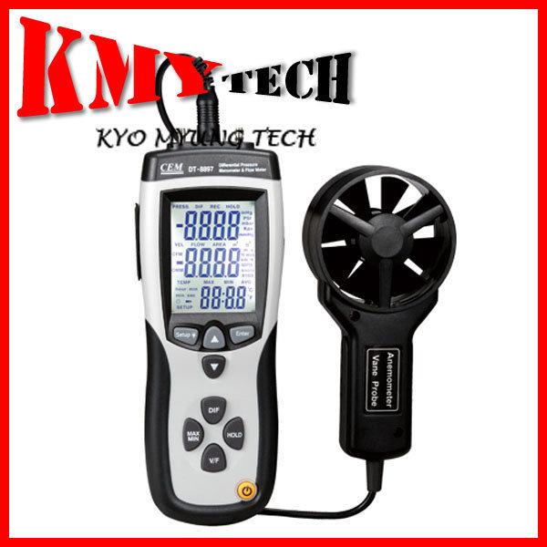 DT-8897/휴대용 압력계 겸 풍속계/BACK LIGHT기능/CEM 상품이미지