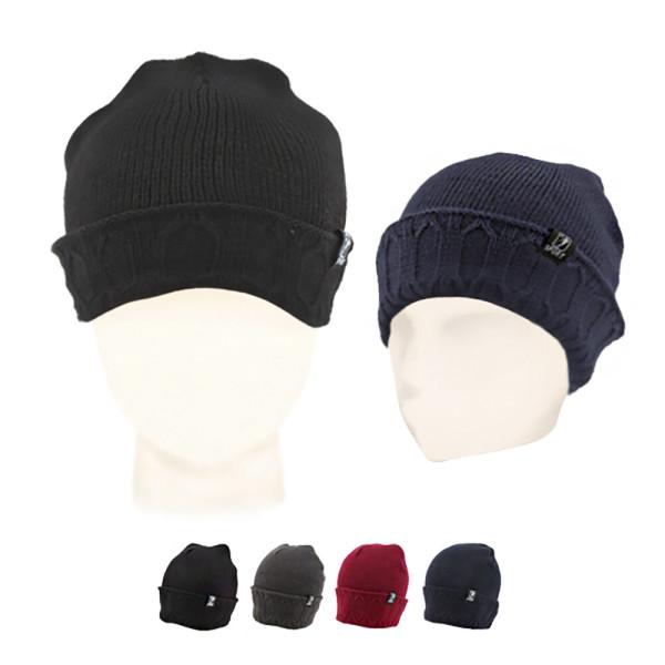 (플씨드) 숏 롱 비니 겨울 방한 남자 털 패션 모자 상품이미지
